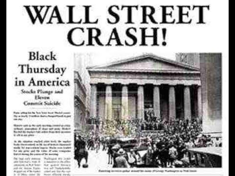 1929 Yılı Wall Street İflası | Büyük Buhrana Giden Süreç