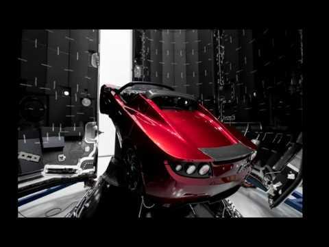 Elon Musk Uzaya Tesla gönderiyor (Falcon Heavy Roketi İle Tesla Roadster Marsa Gönderilecek)