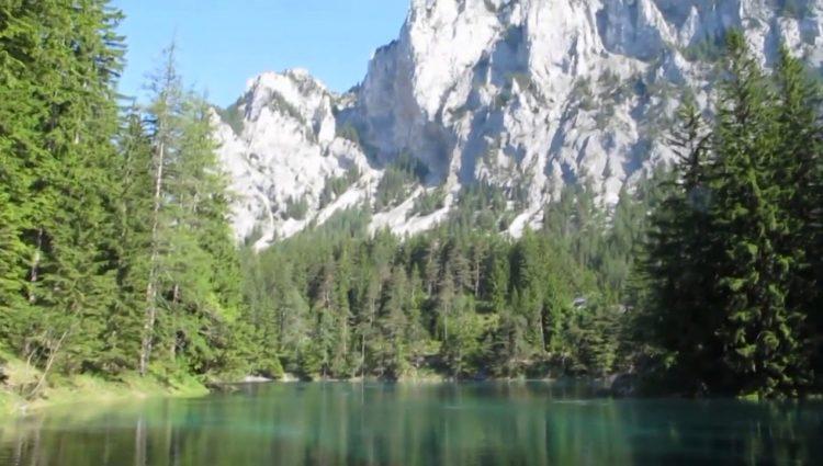 Doğa Harikası Green Lake (Avusturya Yeşil Göl)