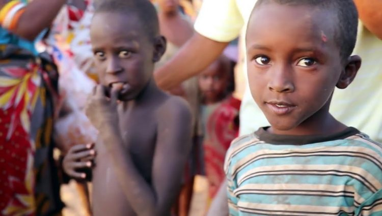Zengin Afrika'da Kurak Yaşam
