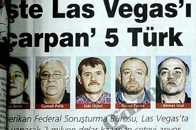 Las Vegas'ta 2 Milyon Dolarlık Vurgun Yapan Türkler