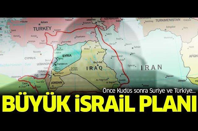 israil yüzyılın planı ve büyük israil projesi