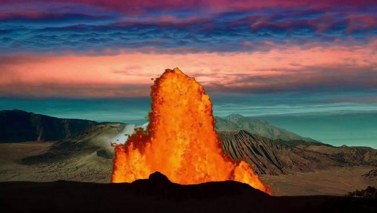 Tambora Yanardağının Patlaması Son Bin Yılın En büyük Patlaması