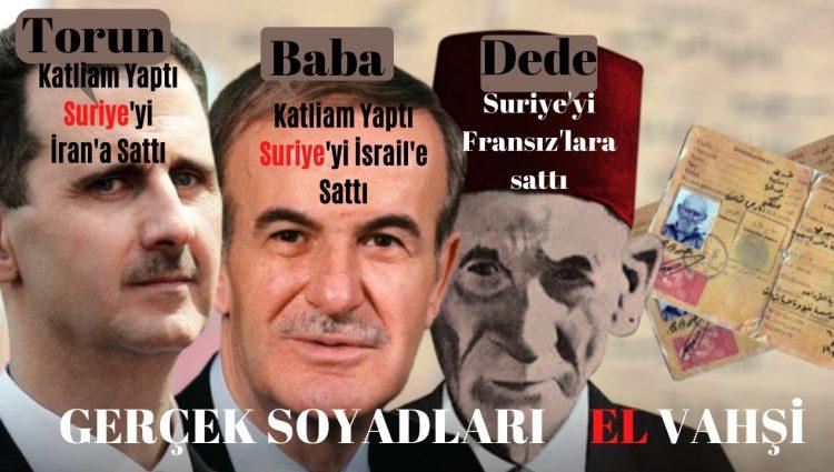 Esad Ailesi Kimdir   Ali El Vahşi'nin Torunu Darbeci Hafız'ın Oğlu Beşar Esad