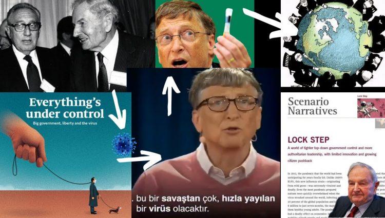 Bill Gates 5 Yıl Önce Virüs Dedi Rockefeller 10 Yıl Önce Yazdı Virüs - Çip Amaç Global Hükümet